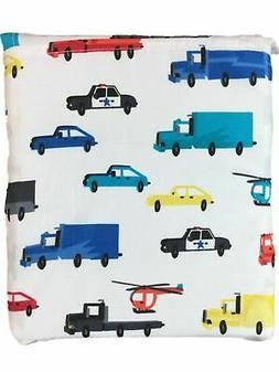 sheet set colorful trucks and cars full