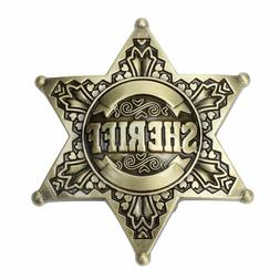 Sheriff Western Men's Belt Buckles women Texa Cowboy Rodeo V