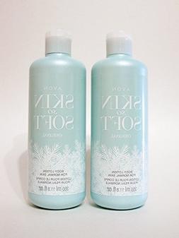 Avon Skin So Soft Original Body Lotion For Normal Skin Lot 4