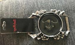 Spencers Body Rage Skull Claws Men's Belt Buckle NEW