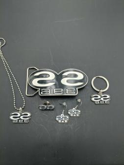 SS396 Gift Set...Necklace,Earrings,Keychain,Hat Pin,Belt Buc