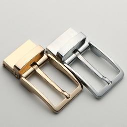 Stainless Steel Pin Belt Buckle Headless Unisex Fashion Wild