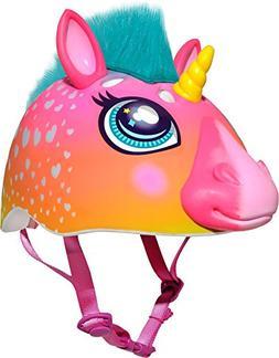 Raskullz Super Rainbow Unicorn With Hair Dark Pink Child's B