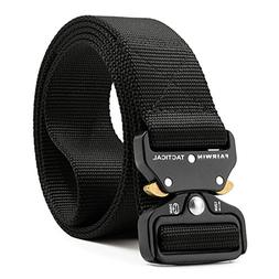 Fairwin Tactical Belt Adjustable Military Style Nylon Rigger