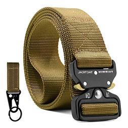 tactical belt for men military style nylon