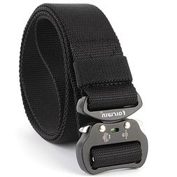 Fairwin Tactical Belt, Military Style Webbing Riggers Belt w