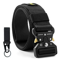 "Fairwin Tactical Belt for Men, Military Style 1.5"" Nylon W"
