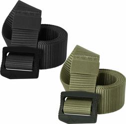 Tactical Deluxe BDU Belt Deluxe Nylon Airport Friendly Plast