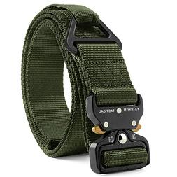"Fairwin Tactical Rigger Belt, 1.7"" Nylon Webbing Belt with"