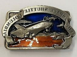 THE SPACE SHUTTLE COLUMBIA Belt Buckle, New
