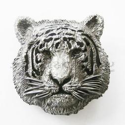 tiger animal metal belt buckle