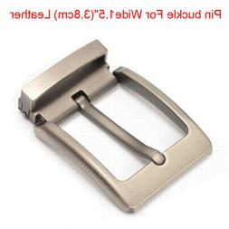 """Top quality alloy men's Belt buckle pin buckle For Wide 1.5"""""""