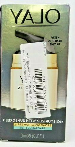 Olay Total Effects Anti-Aging Moisturizer 15ml  exp 04/2020
