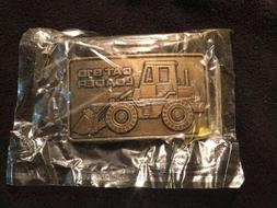 Caterpillar Tractor Cat 910 Loader Belt Buckle In Original P