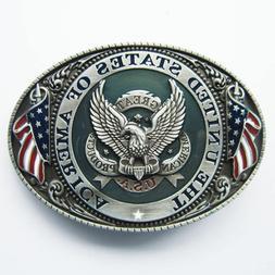 u s a american flag eagle metal