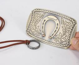Uncharted 4 Sir Francis Nathan Drake Belt Buckle and Necklac