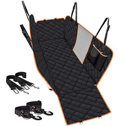 CLEEBOURG Upgraded Dog Seat Cover for Cars Trucks SUV,Waterp