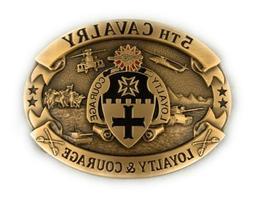 🌟US Army 5th Cavalry, Black Knights COA, Loyalty & Courag