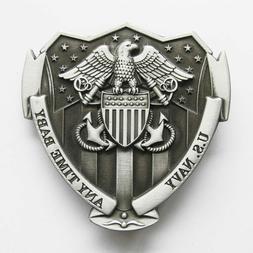 US Navy Metal Belt Buckle