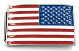 USA Country American National Flag Metal Belt Buckle …