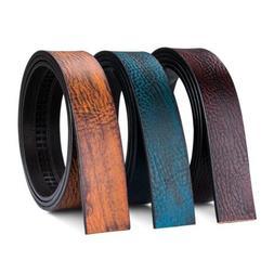 USA Luxury Men's Belt Blue Yellow Coffee Genuine Leather Onl