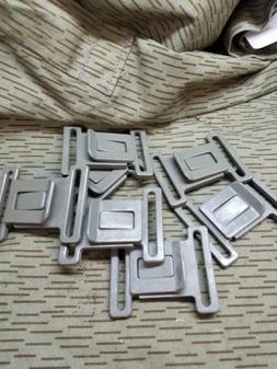 USGI military surplus-web belt replacement belt buckle 2pk -