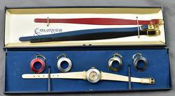 Vintage Timex Cavatina 5 Strap/Bezel Set Women's Fashion Wat