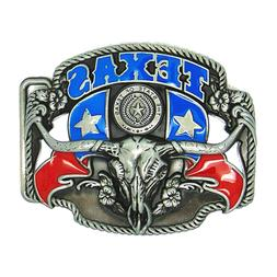 Vintage Cow Men's Belt Buckles for women Western The State o
