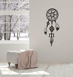 Vinyl Decal Wall Sticker Dreamcatcher Ethnic Decoration for