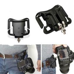 Waist Belt Buckle for Camera Mount DSLR Clip Loading Fast Ho