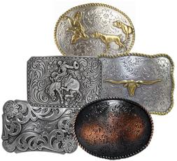 WESTERN COWBOY COWGIRL RODEO BELT BUCKLES * CHOOSE FROM 33 S