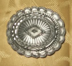 Ege Western Cowboy Southwest Oval Vintage Style Belt Buckle