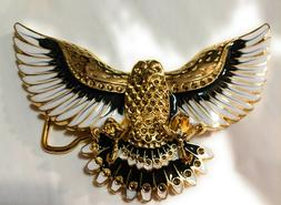 ✖ WESTERN Steer Eagle Gold White Color Beauty Cowboy Rodeo