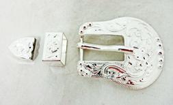 Wickenburg 3 Piece Belt Buckle Loop Tip Hansen Western Gear