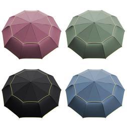 Windproof Folding Oversize Large Rain Golf Umbrella Men Wome