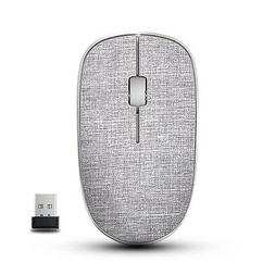 RAPOO Wireless Mouse for Mac Laptop PC, Fabric Ergonomic Opt