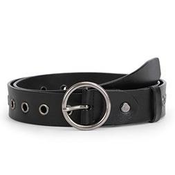 WERFORU Women Casual Dress Belt Genuine Leather Belt with Ro