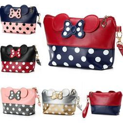 Womens Travel Cosmetic Bag Cartoon Makeup Case Pouch Toiletr
