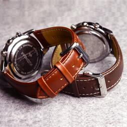 Women Wristwatch Band Watch Strap Leather Replacement Belt B