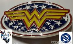 DC Comics WONDER WOMAN Logo BELT BUCKLE Collectible Cosplay
