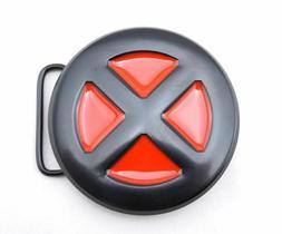 X-Men Logo Belt Buckle RED BLACK XMen Xman X-Man Wolverine G