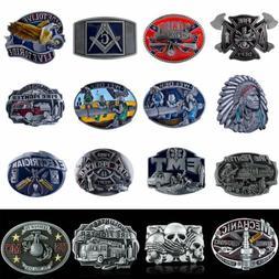 Zinc Alloy Mens Leather Belt Buckle Western Cowboy Vintage B